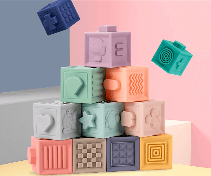 12-Piece Toddlers Play Blocks