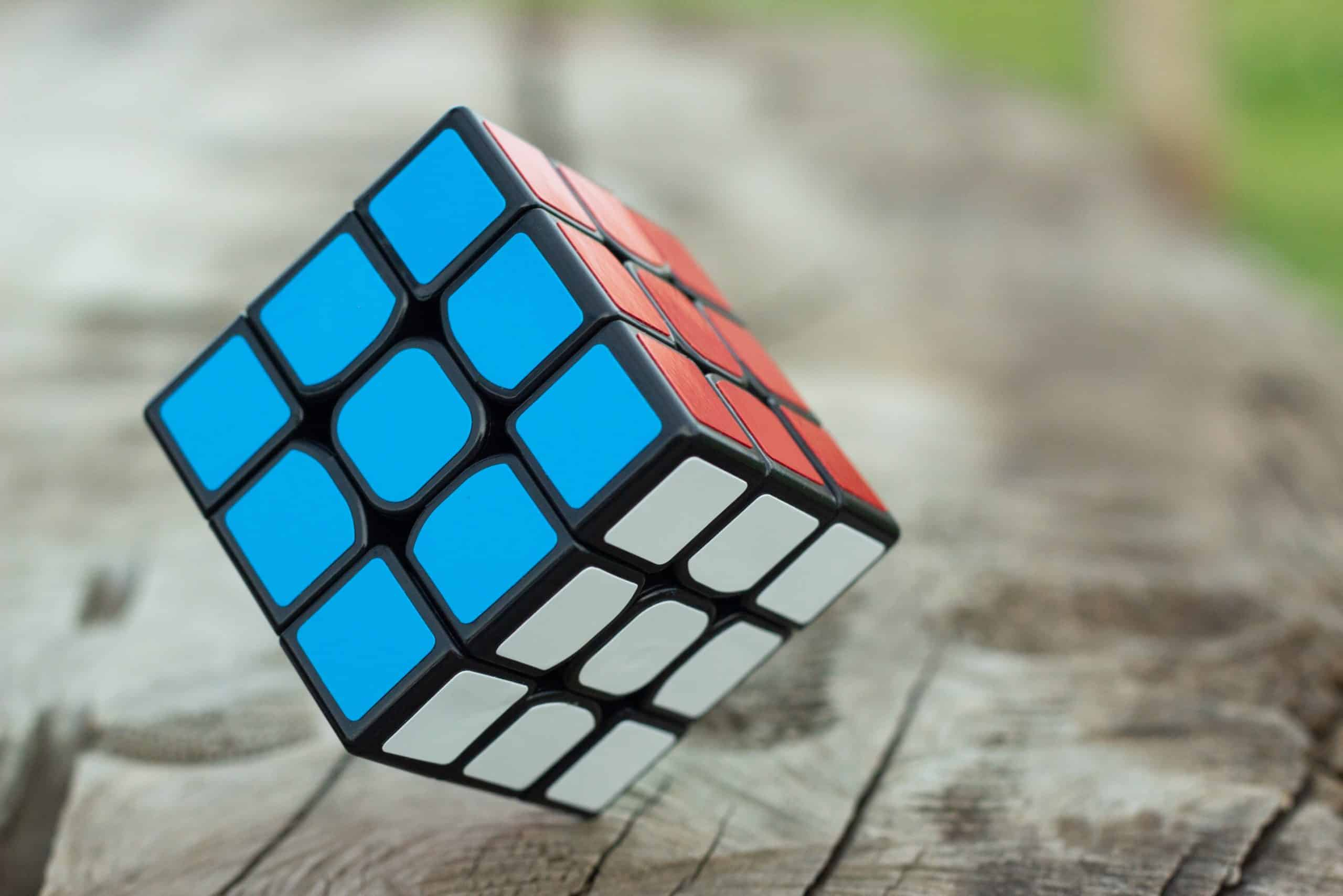 Rubic cubes puzzle for children